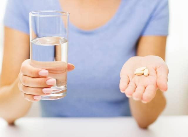 Prendre des vitamines