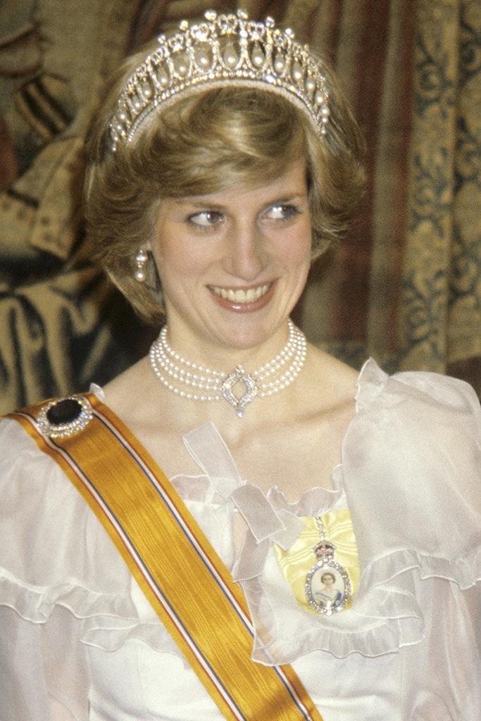 Princesse Diana Collier de la Reine 1982